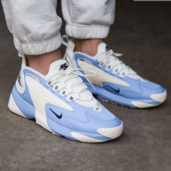 Nike Zoom 2K shoes blue white